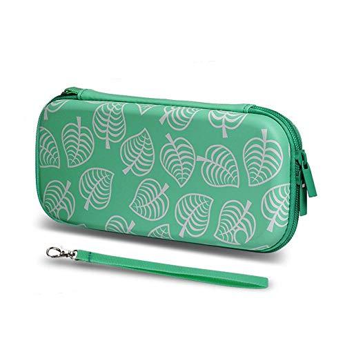 Xploit Tragetaschen Tasche für Switch Lite Switch NS Hartschale Stoßfeste Tragetasche Hardcover Aufbewahrungstasche Schutzzugang (grün)