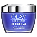 Olay Regenerist Retinol 24 Crema Hidratante De Noche Con Retinol, Sin Fragancia, 50 ml