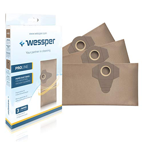 Wessper® Bolsas aspiradora Einhell TE-VC 1820 1250