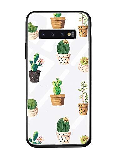 Alsoar - Carcasa de Repuesto para Samsung S9, de Silicona Transparente, antiarañazos, Parte Trasera de Vidrio Templado con Marco Suave, para Galaxy S9
