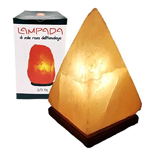 My Custom Style Lampada di Sale dell'Himalaya (Punjab Pakistan) 2-3kg Piramide