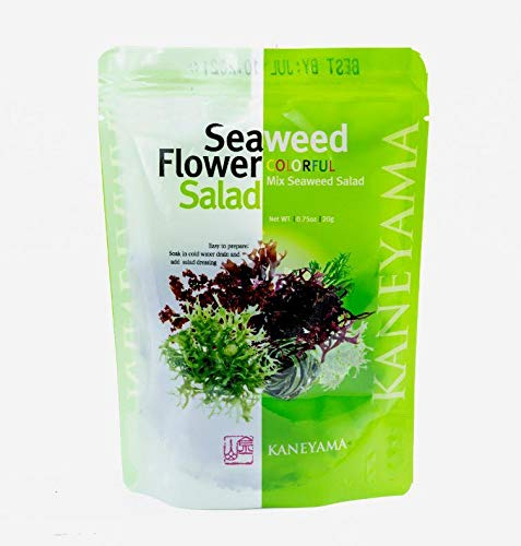Kaneyama Seaweed Flower Salad 20g (Seaweed Flower Salad 20g 1 Pack)