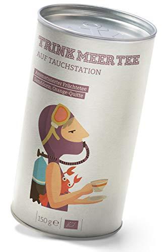 Auf Tauchstation - ein aromatisierter Früchtetee mit Sanddorn & Quitte (150g)