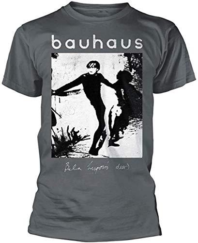 Plastic Head Bauhaus 'Bela Lugosi's Dead' (Charcoal) T-Shirt,XX-Large