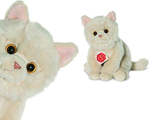 Teddy Hermann 90693 Katze beige 24 cm