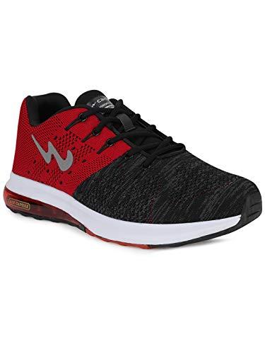 Campus Men's Peris BLK/RED Running Shoes 7-UK