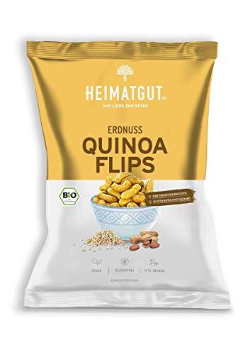 Heimatgut - BIO Erdnuss & Quinoa Flips DE-ÖKO-039 - 115g Tüte