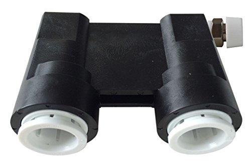Herbruikbare centrale verwarming watersysteem Quick Test Druk Controleren Connector 15 mm