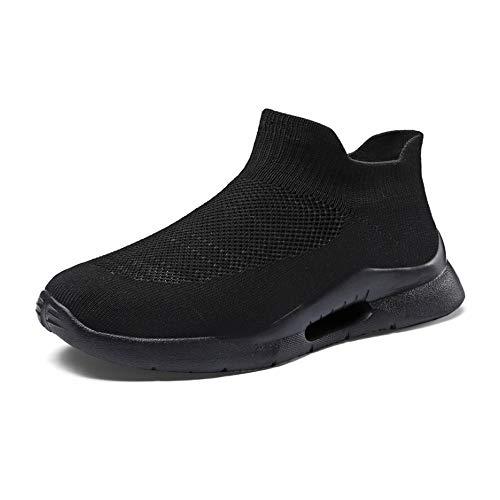 YSZDM Hardloopschoenen voor heren, mesh ademende sokken, antislip, slijtvaste outdoor-sportschoenen voor koppels