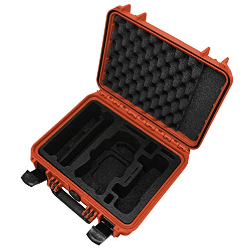 Custodia XTREME per DJI Mavic Air 2 con inserto per Fly More Combo, fino a 4 batterie e tanti accessori | custodia da esterno impermeabile IP67 - Made in Germany (Rosso)