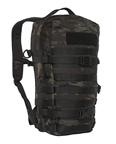 Tasmanian Tiger TT Essential Pack L MKII Molle-Kompatibler 15L Daypack Outdoor Rucksack (Multicam Black)