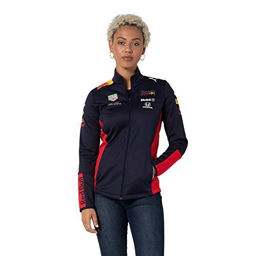 Red Bull Racing Official Teamline Softshelljacke, Blau Damen Large Übergangsjacke, Racing Aston Martin Formula 1 Team Original Bekleidung & Merchandise