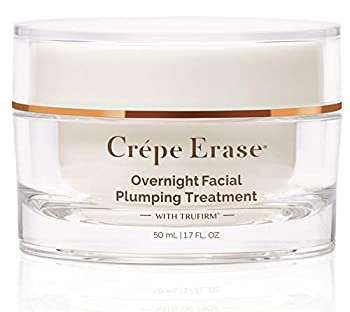 Crépe Erase Advanced  Overnight Plumping Facial Treatment With Trufirm Complex & 9 Super Hydrators  1.7 Oz