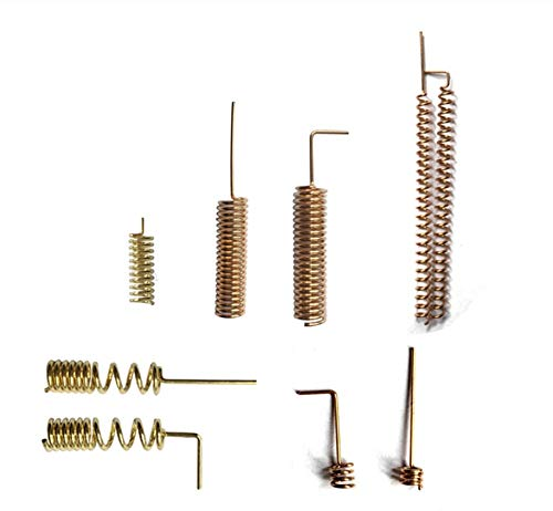 WSF-Helical-Antenne, 100pcs Fabrik-Preis Interne PCB Luft Kupfer Fahrwerksfeder Antenne 433 Helixantenne 433Mhz (Größe : 100pcs)