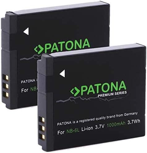 Patona Premium Akku Ersatz Für Canon Nb 6l Zu Canon Kamera