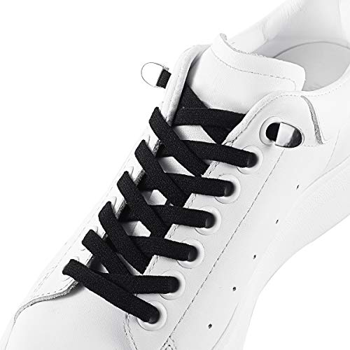 Save Time On Tying Shoes Sneakers Boots 2 Pairs No Tie Stretch Shoelace