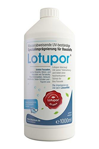 Lotupor® Stein- und Fassadenimprägnierung 1 Liter