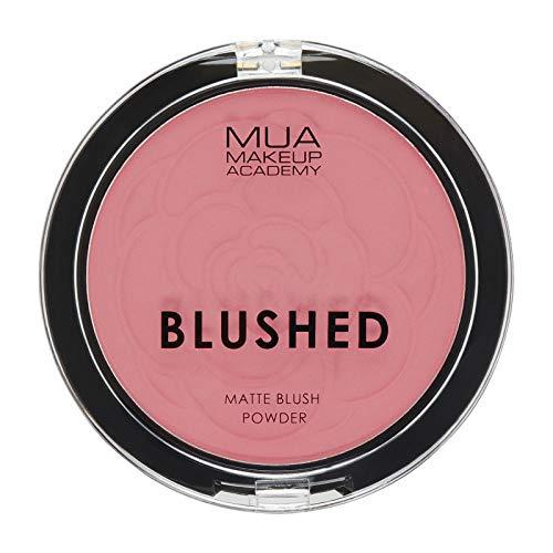 MUA Make Up Academy BLUSHED MATTE BLUSH POWDER BLUSHER (ROSE TEA)