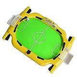 Futbolín, Mini Mesa de Juguete Interactivo portátil con Dos Bolas, el Mejor Juego de Escritorio Interactivo para niños y Adultos, Azul