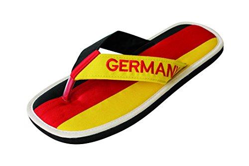 Nawemo Zimt-Slipper Deutschland, WM-Edition (Zimtlatschen), Größe 45/46