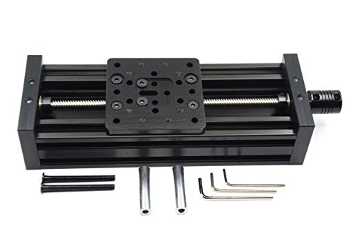 Befenybay 250mm Z-axis Screw Slide Table Linear Actuator Kit Linear Module for 3D Printer and OpenBuilds
