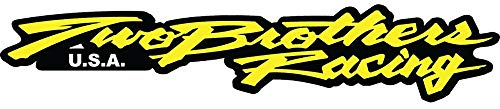 Set of 3 - Two Brothers Racing Nascar - Sticker Graphic - Auto, Wall, Laptop, Cell, Truck Sticker for Windows, Cars, Trucks