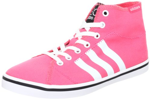 adidas NEO Canvas VLNEO Bball Damen MID TOP Sneaker Lifestyle Sommer Schuhe PINK, Schuhgröße:38 EU, Farbe:Pink