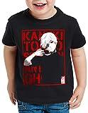 style3 Tokyo Fate Camiseta para Niños T-Shirt Ghoul Kaneki Anime Manga, Talla:152