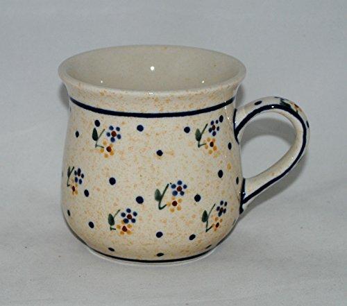 Oryginalny kubek ceramiczny Bunzlauer   ZC Bolesławiec [1599/D-11/1]   Handmade Polish Pottery