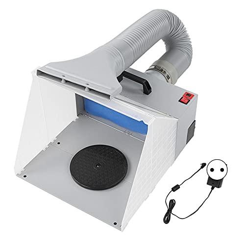 Plástico para cabina de pintura con aerógrafo, kit de cabina de pintura con aerógrafo de alta densidad para interiores(Transl)