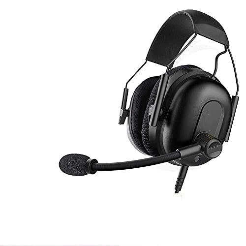 Auriculares para juegos con micrófono 7.1 Surround Design Gaming Auriculares para PC Teléfono móvil Xbox Game Headset (color : A) (Color: B)