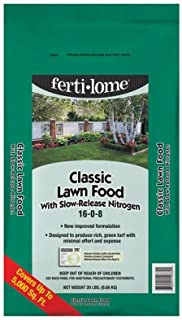Fertilome Voluntary Purchasing Group 10730 Classic Lawn Food, 16-0-8, Covers 5,000-Sq.-Ft. - Quantity 1