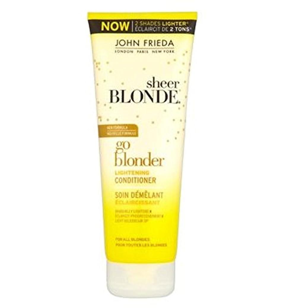 フィードバック密接に消すJohn Frieda Sheer Blonde Go Blonder Lightening Conditioner 250ml - ジョン?フリーダ薄手ブロンド行くBlonder美白コンディショナー250Ml (John Frieda) [並行輸入品]