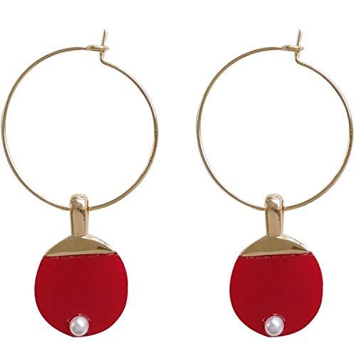 Zuiaidess Damen Ohrringe,Persönlichkeit Kreative Mode Tischtennis Fledermaus Anhänger Ohrstecker Für Frauen Täglich Accessoires Schmuck