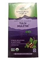 オーガニック インディア&ファブインディア トゥルシー TULSI 【MULETHI】 25袋入り カフェイン無し [並行輸入品]