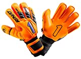 Rinat New Uno Premier Lux Spines (Finger Protection) Free Customization & Pin! (Orange, 6)