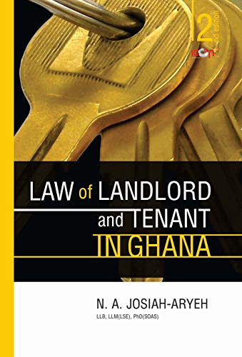 Law of Landlord and Tenant in Ghana (Icon Law Series) (English Edition)