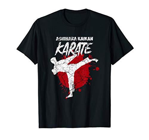Ashihara Kaikan Karate Training Martial Arts Karate Outfit T-Shirt
