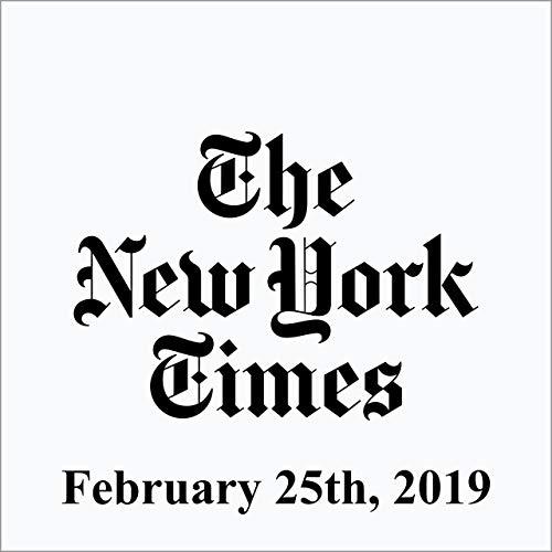 February 25, 2019 copertina