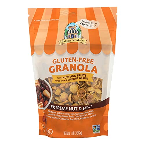 Bakery on Main Gluten Free Extreme Fruit and Nut Granola Cereal, 12 Ounce - 6 per case.