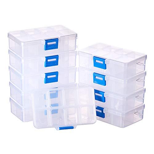 Caja profesional con 80 compartimientos para la cría de gusanos