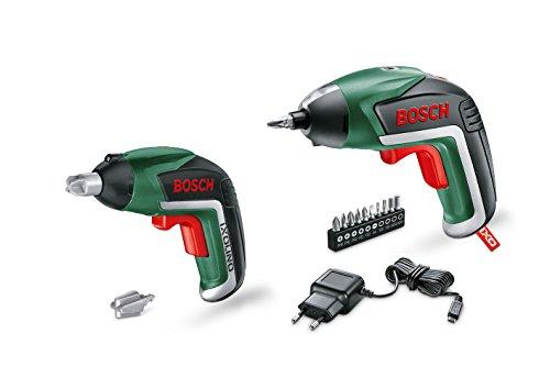 Bosch Akkuschrauber Ixo Set (3,6 Volt, mit Spielzeugschrauber für Kinder, im Karton)