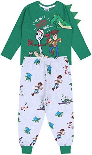 Zielona góra i szara piżama zestaw dla chłopców Toy Story 4 DINSEY
