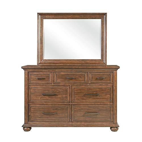 Right2Home Mirror Dresser, Brown