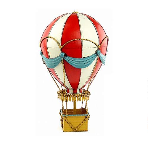 Modelo De Globo Aerostático-Réplica De Globo Aerostático: Colgando En El Aire ( Color : Red , Size : 21*21*34cm )