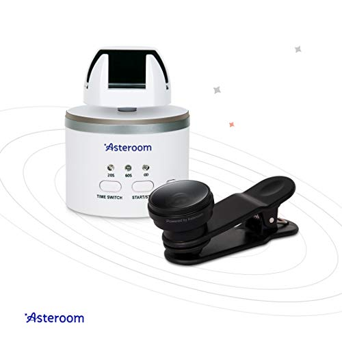 360 Camera Virtual Tour Kit by Asteroom (Requires a Tripod + Recommend Asteroom Phone Case, Purchased Separately)