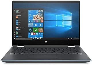 "HP Pavilion x360 14-dh0000ne Convertible Laptop, Intel Core i3 8145U 2.1 GHz Processor, 14"" Inch FHD Touchscreen, 256 GB HDD, 4 RAM, UHD 620 Graphics, English - Arabic Keyboard Win 10, Silver Notebook"