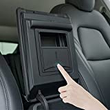 YONZEE Center Console Organizer for Tesla Model Y Model 3 Accessories, Armrest Hidden Storage Box Fit for Tesla Model Y/3