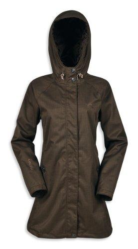 Tatonka Damen Regenmantel Wallace Womens Coat, graphite, 36, L298