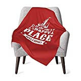 XCNGG Mantas para bebés edredones para bebésMagic Kingdom Walt'S Happy Place Baby Blanket Super Soft Printed Blanket Receiving Blanket for Boys Girls, Stroller, Crib, Newborns, Receiving